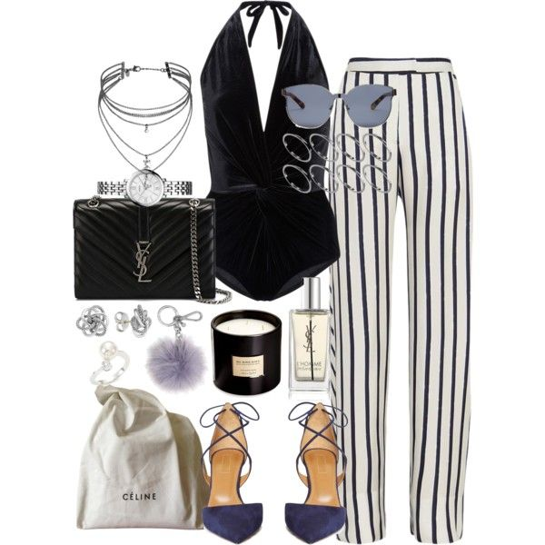 A fashion look from November 2016 featuring Nicholas pants, Karla Colletto one-piece swimsuits e Aquazzura pumps. Browse and shop related looks.