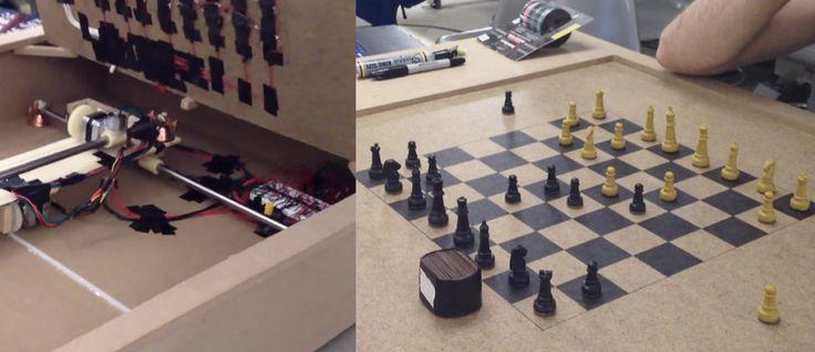 Online Chess Using Wireless Arduino-Powered Chess Board