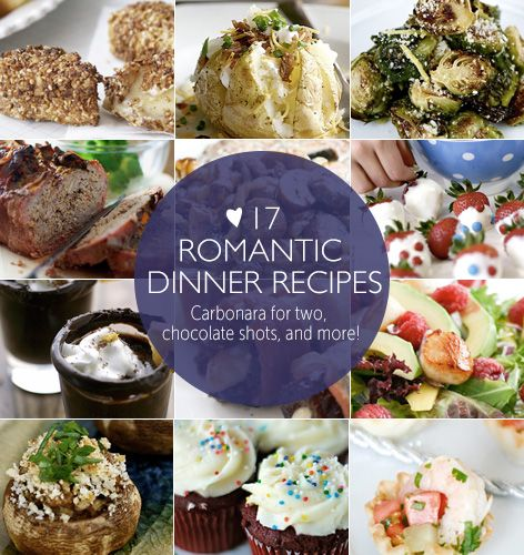 17 romantic dinner recipes carbonara for two chocolate for Good romantic dinner ideas