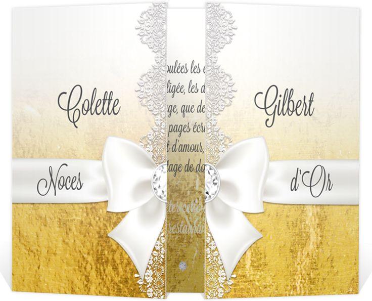 Les 25 meilleures id es de la cat gorie noces d 39 or sur pinterest d corations d 39 anniversaire - Decoration noce d or ...