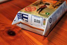 Heimlaga syblogg: Hur man syr en tygkasse i papperskassemodell