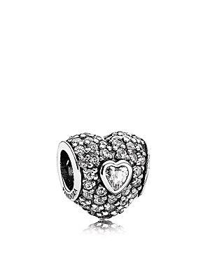 Be Magical Disney Heart Solid Bracelet Charm Sterling Silver S925 quuGQSOH