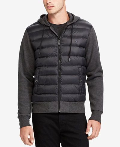 Polo Ralph Lauren Men's Paneled Down Jacket