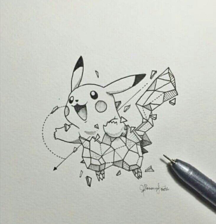 Pikachu   Geometric Beasts
