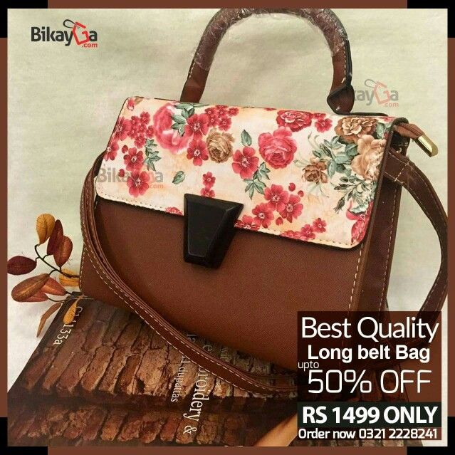 New Arrival: Long belt Bag 50% OFF Rs: 1499 : (Free Home Delivery) For Order : http://goo.gl/forms/7aWURwDuhE For Order Inbox / SMS / Text your details on 0321-2228241