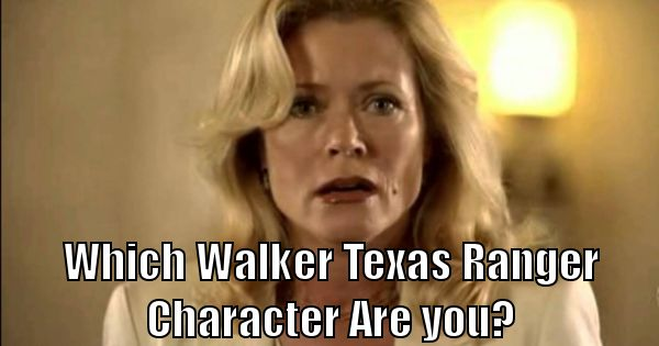 Which Walker, Texas Ranger Character Are You? | BrainFall