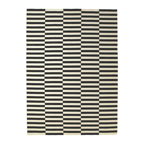 STOCKHOLM Rug, flatwoven IKEA The durable, soil-resistant wool surface makes this rug perfect in your living room or under your dining table.
