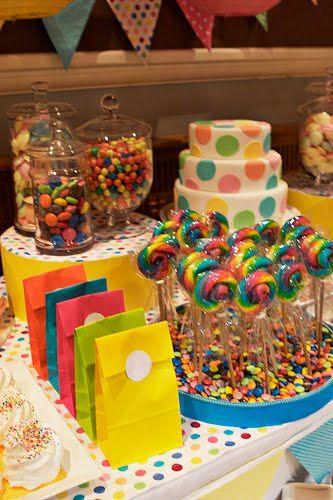 Festeggiare Bambini: Cores, muitas cores