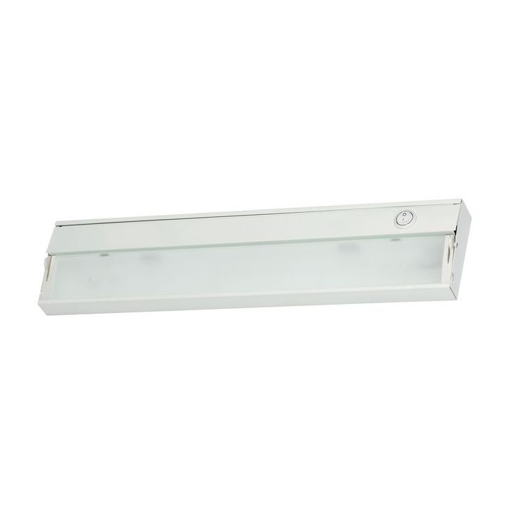 ZeeLine 2 Lamp Xenon Cabinet Light In White With Diffused Glass