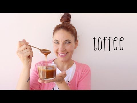 Molho Toffee (caramelo e natas) - YouTube