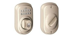 Amazon Daily Deal: 70% Off Schlage Plymouth Keypad Deadbolt
