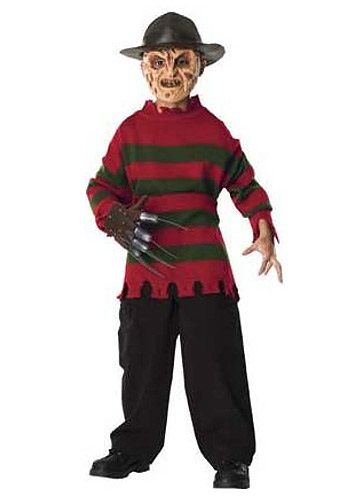 Deluxe Child Freddy Krueger Sweater $28.99