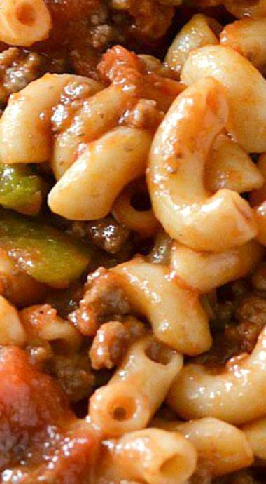 13254 best most awesomely delicious recipes on pinterest images on classic american style goulash forumfinder Choice Image