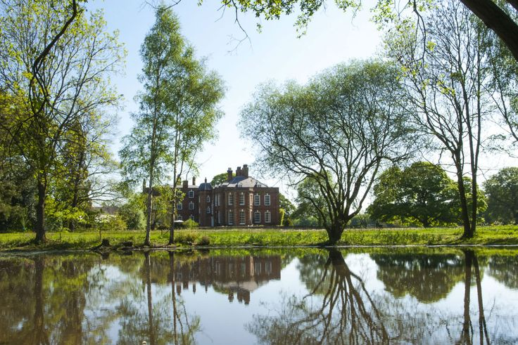 Iscoyd Park is a romantic and beautiful Georgian country house wedding venue Your House