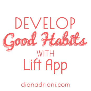 Read my review of Lift app, the one app that may change your habits. #selfhelp #appreview #motivation #habits #googlefonts #blog