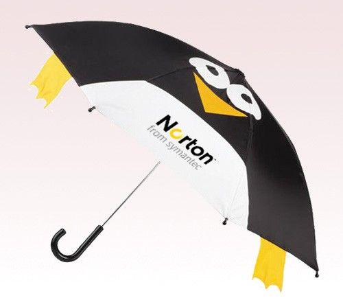 An ideal gift for children.  #penguin #kids #fun #umbrellas #freesetup