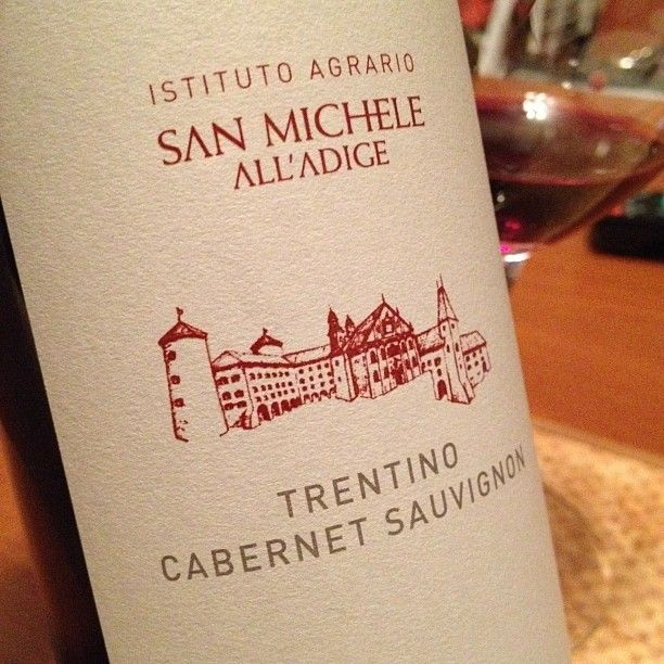 This 2010 #cabernet of #trentino has an elegance & softness suitable for this evening #wine #winelover