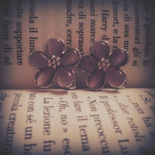 Orecchini Hermione - Ballo del Ceppo HP e il Calice di Fuoco
