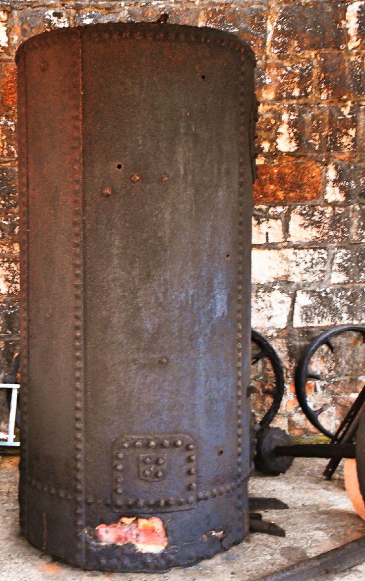 Boiler, Trial Bay Gaol Museum, Arakoon NSW