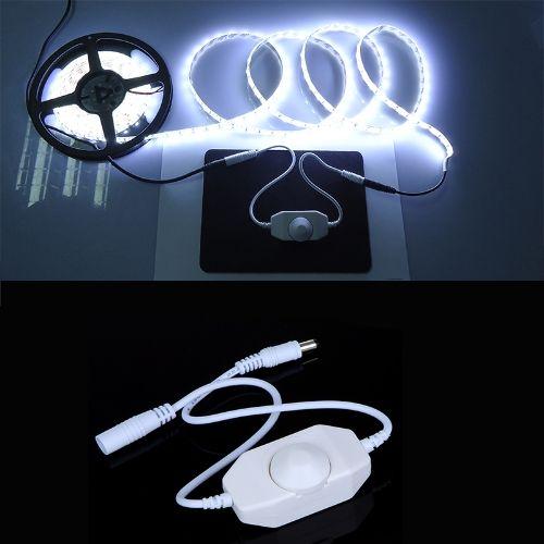 LED Dimmer Controller Single Color Bright Adjust 12-24V for 5050 3528 LED Light Strip