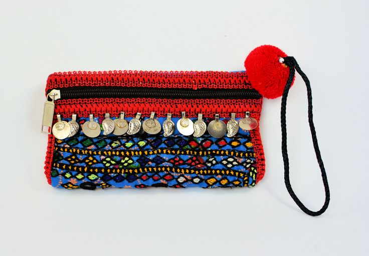 Red and blue Hand embroidered clutch bag,Sindhi embroidery bag,Handmade bags,Clutches,Evening bags,Banjara bags,Fabric bags,Pouches,Handbags by ZsTribalTreasures on Etsy