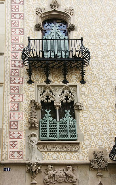 Casa Amatller, Barcelona ~ photo by jaime.silva