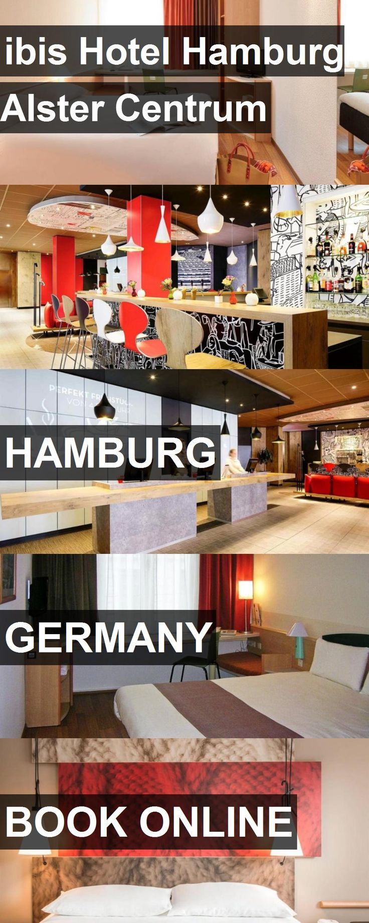 Hotel ibis Hotel Hamburg Alster Centrum in Hamburg, Germany. For more information, photos, reviews and best prices please follow the link. #Germany #Hamburg #hotel #travel #vacation
