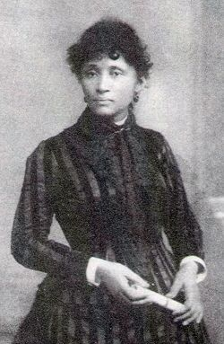 """The Chicago police labeled her """"more dangerous than a thousand rioters.""""  For almost 70 years, Lucy Parsons fought for the rights of the poor and disenfranchised in the face of an increasingly oppressive industrial economic system. Her radical activism challenged the racist and sexist sentiment in a time when it was assumed that women were biologically determined to stay at home barefoot and pregnant."""