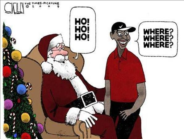 christmas jokes | Christmas Jokes | Tag Archive | Tiger Woods Christmas Picture