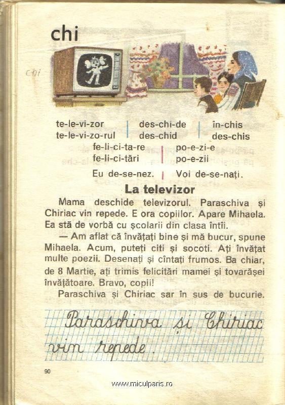 La televizor
