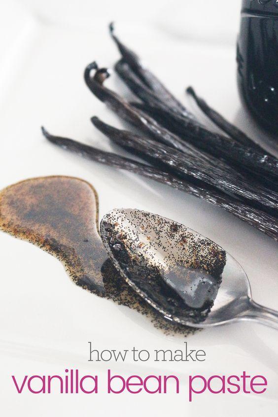 Homemade Vanilla Bean Paste