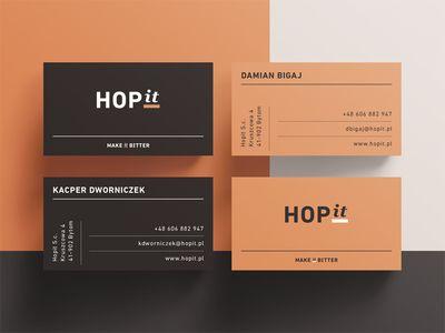 HOPit business cards