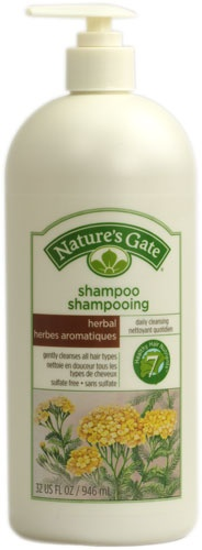 Nature's Gate Herbal Daily Cleansing Shampoo - still love the hippy smell