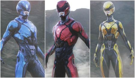 Rejected Power Rangers Movie Suits - Power Rangers Now