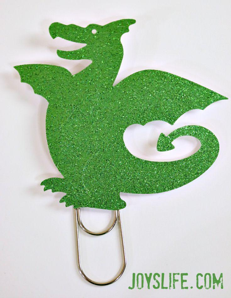 Tutorial: No Sew Felt Candy Bar Holder and Dragon Bookmark