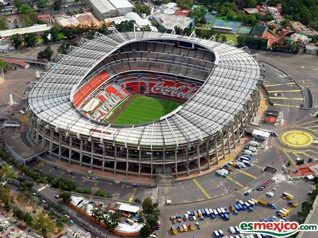 (Soccer) Estadio Azteca (Mexico City, Mexico) Capacity: 105,000