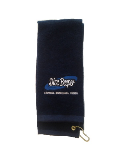 Disc Golf Towel- Dark Blue