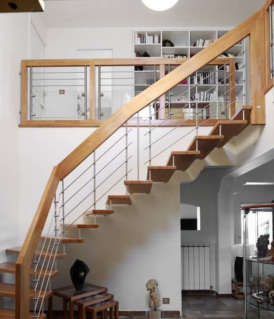 Las 25 mejores ideas sobre barandales de madera en - Barandales modernos para escaleras ...