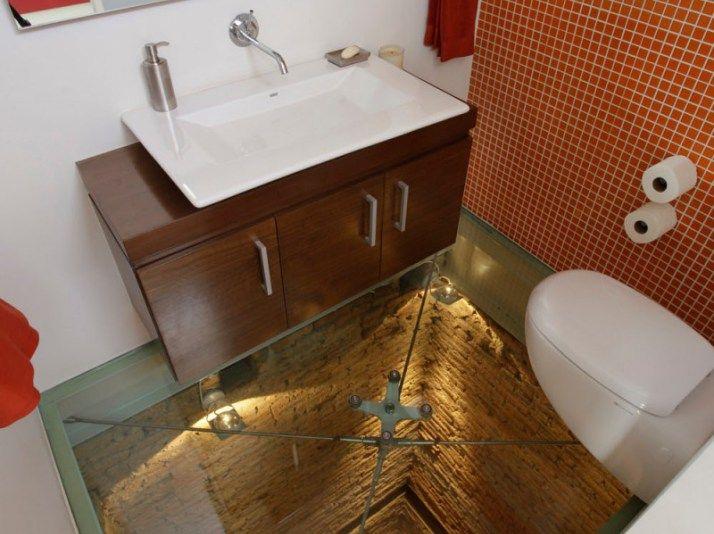 Penthouse PPDG Meksika'da 15. Katta İlginç Tuvalet Tasarımı