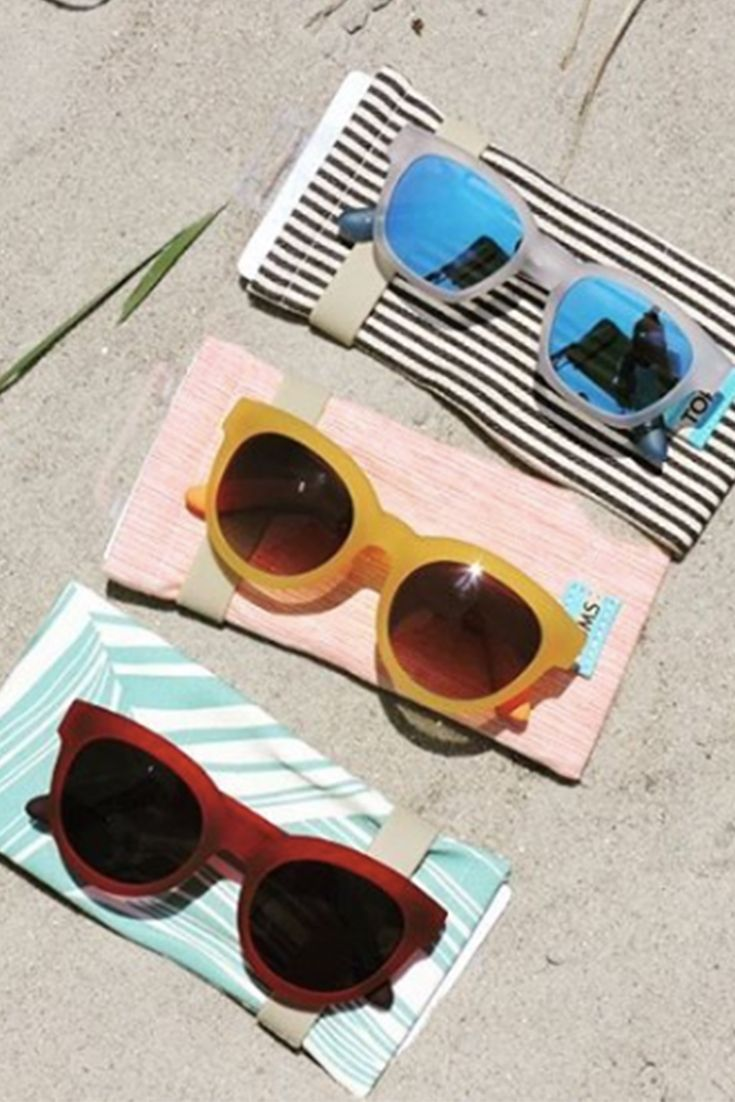 Soak up the last days of summer in Traveler by TOMS sunglasses. Photo by: Coastal Urge