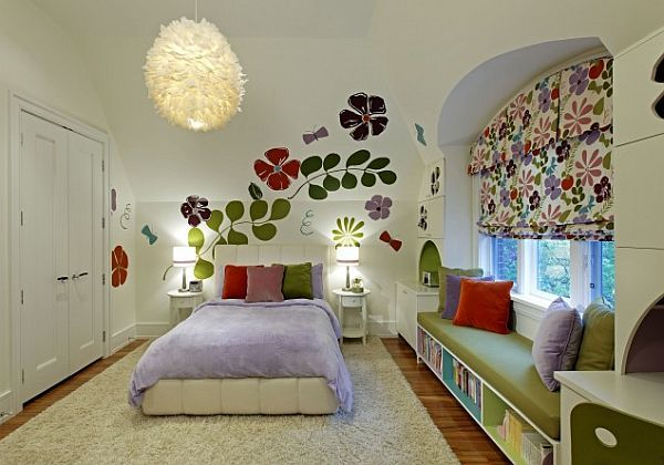 Whimsical Decor Ideas for Kids Rooms ::I don't care if it's for kids, I WANT THIS ROOM!!::