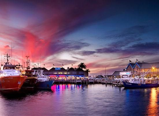 Fishing boat harbour - Fremantle