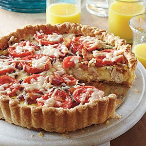 Shortcuts for Classic Main Dishes | Your Way: Kentucky Hot Brown Tart | SouthernLiving.com
