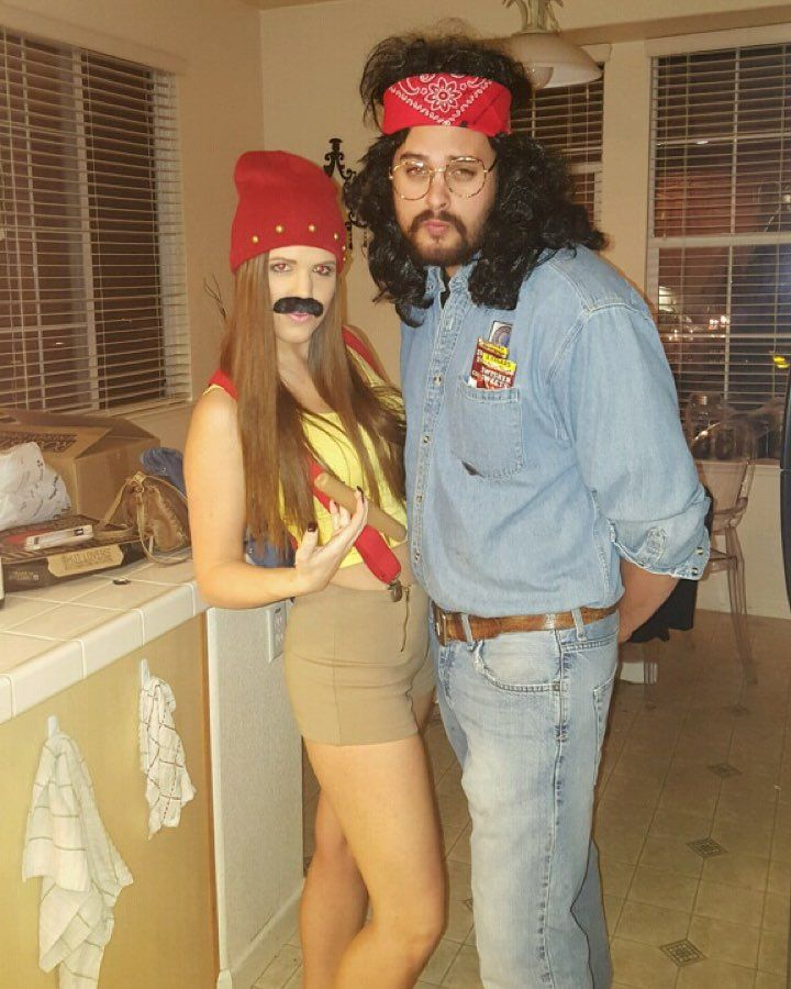 Tommy Chong Halloween Costume Homemade