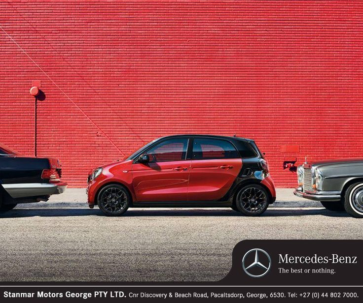 Wherever you're going, the #SmartForFour will bring you quickly to your destination, and on the way there you'll enjoy every minute behind the wheel. Contact #TeamStanmar on 044 802 7000 for more information or to book a test drive.