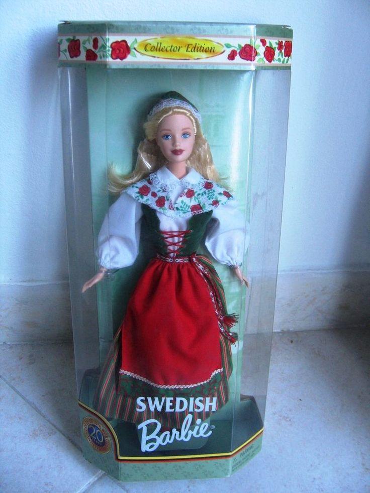 Barbie Swedish dolls of the world 1999 NRFB collector edition 20° anniversario
