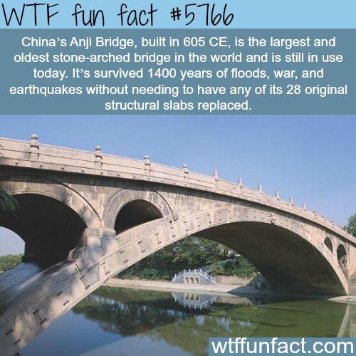 China's Anji Bridge - WTF fun facts