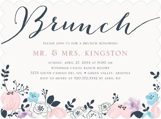 After Wedding Brunch Ideas: Best 25+ Brunch Invitations Ideas On Pinterest