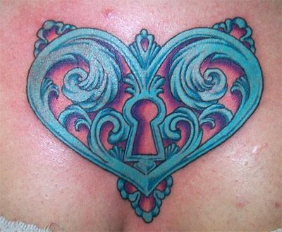 key tattoo  | Tattoos  Tara Fenn  Page 1  Heart Key Tattoo