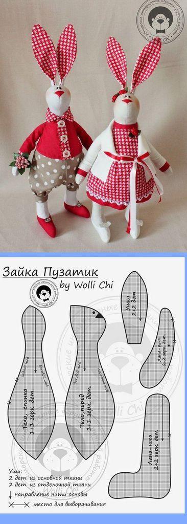 un diy couture lapin trouvé sur Trouvé sur Uploaded by user